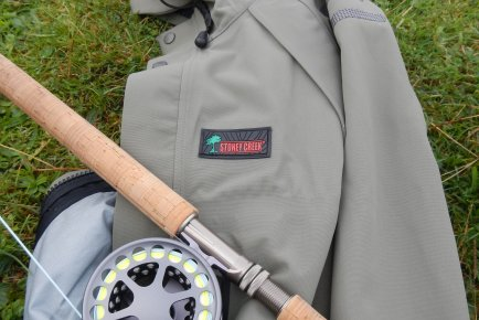 The Stoney Creek Tarn Jacket, the perfect game fishing jacket.